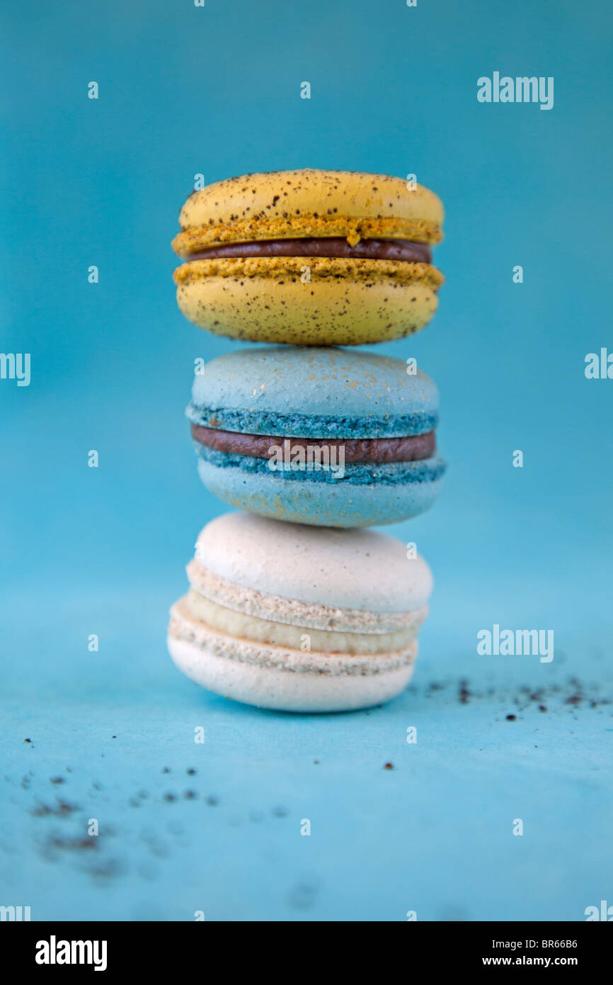 stack of cookies - Stock Image