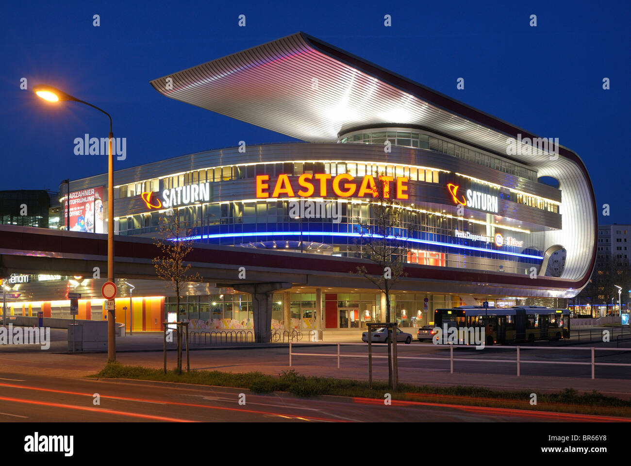 Eastgate, one of the largest shopping and recreation centres in Berlin and eastern Germany, in Marzahn, Berlin, Stock Photo