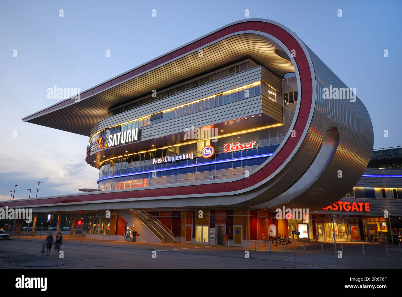 Eastgate, one of the largest shopping and recreation centres in Berlin and eastern Germany, in Marzahn, Berlin, - Stock Image