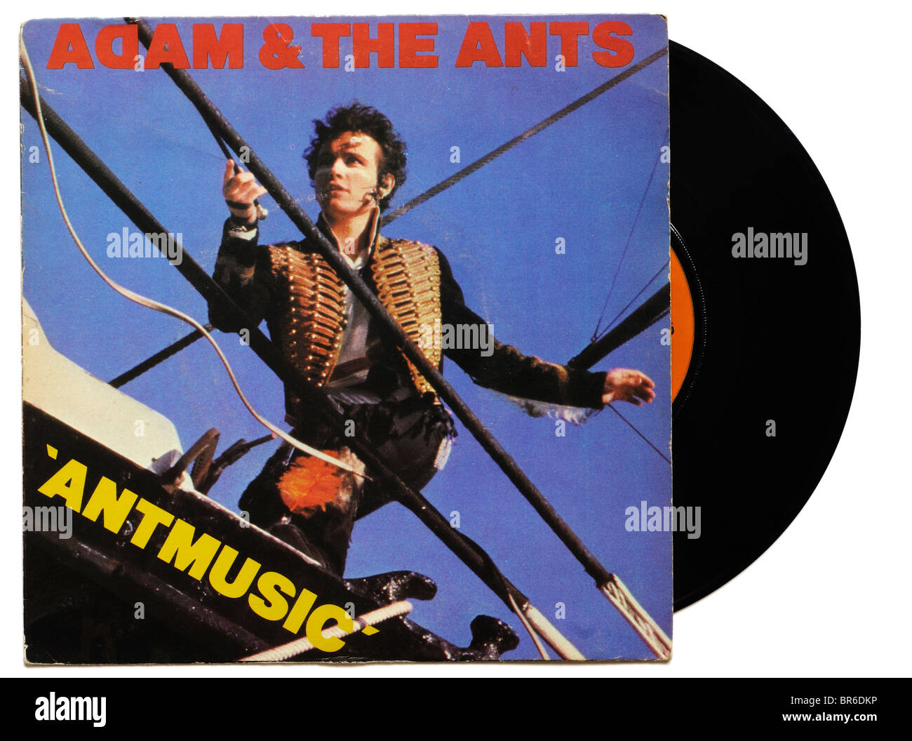 Adam and the Ants Antmusic single - Stock Image