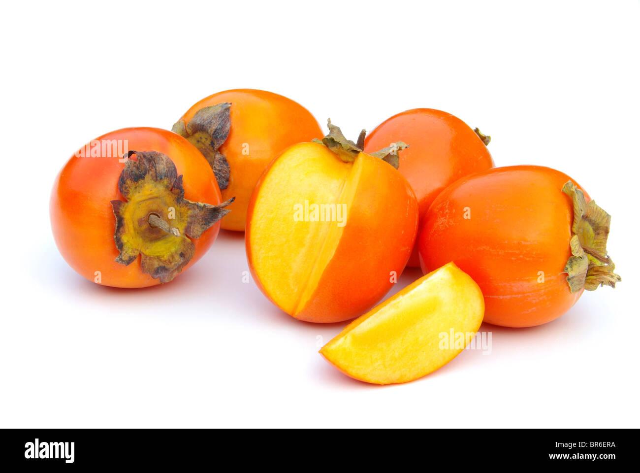 Kaki - Japanese Persimmon 16 - Stock Image