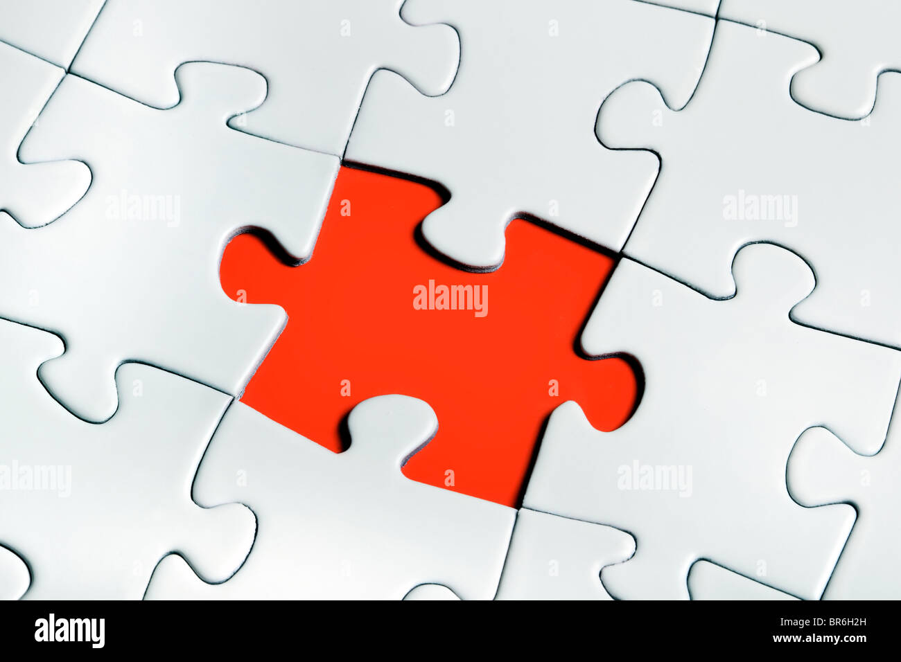 puzzle pieces - Stock Image