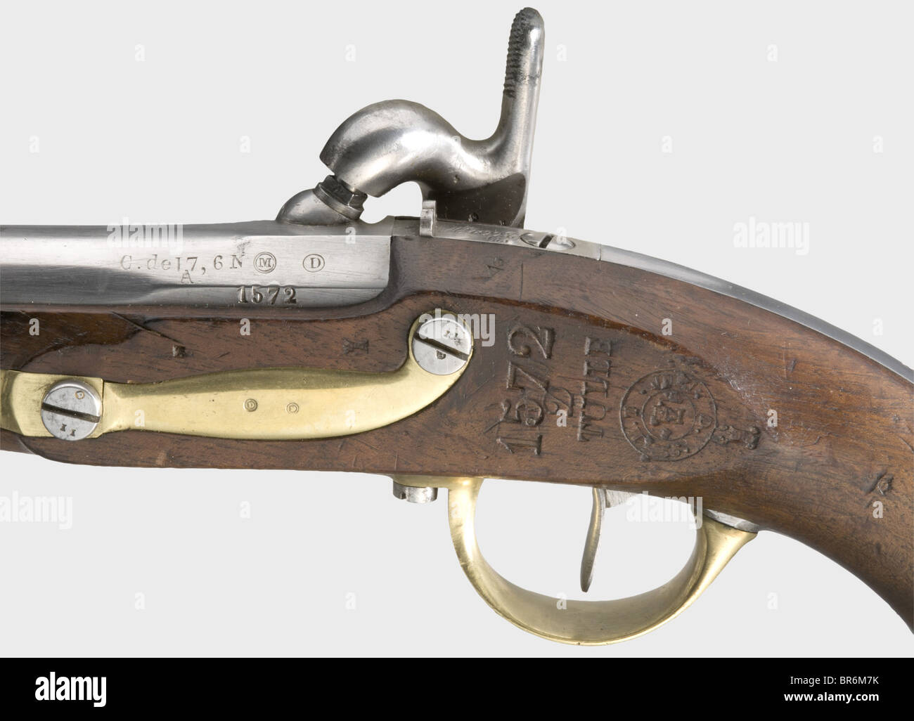 Ramrod for French percussion pistol 1822 bis American civil war