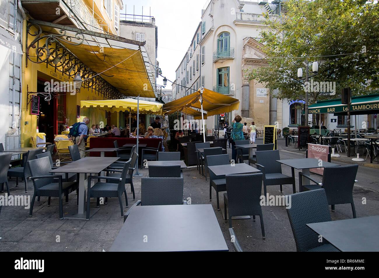 The Caf 233 Terrace Now Caf 233 Van Gogh Arles Provence Alpes