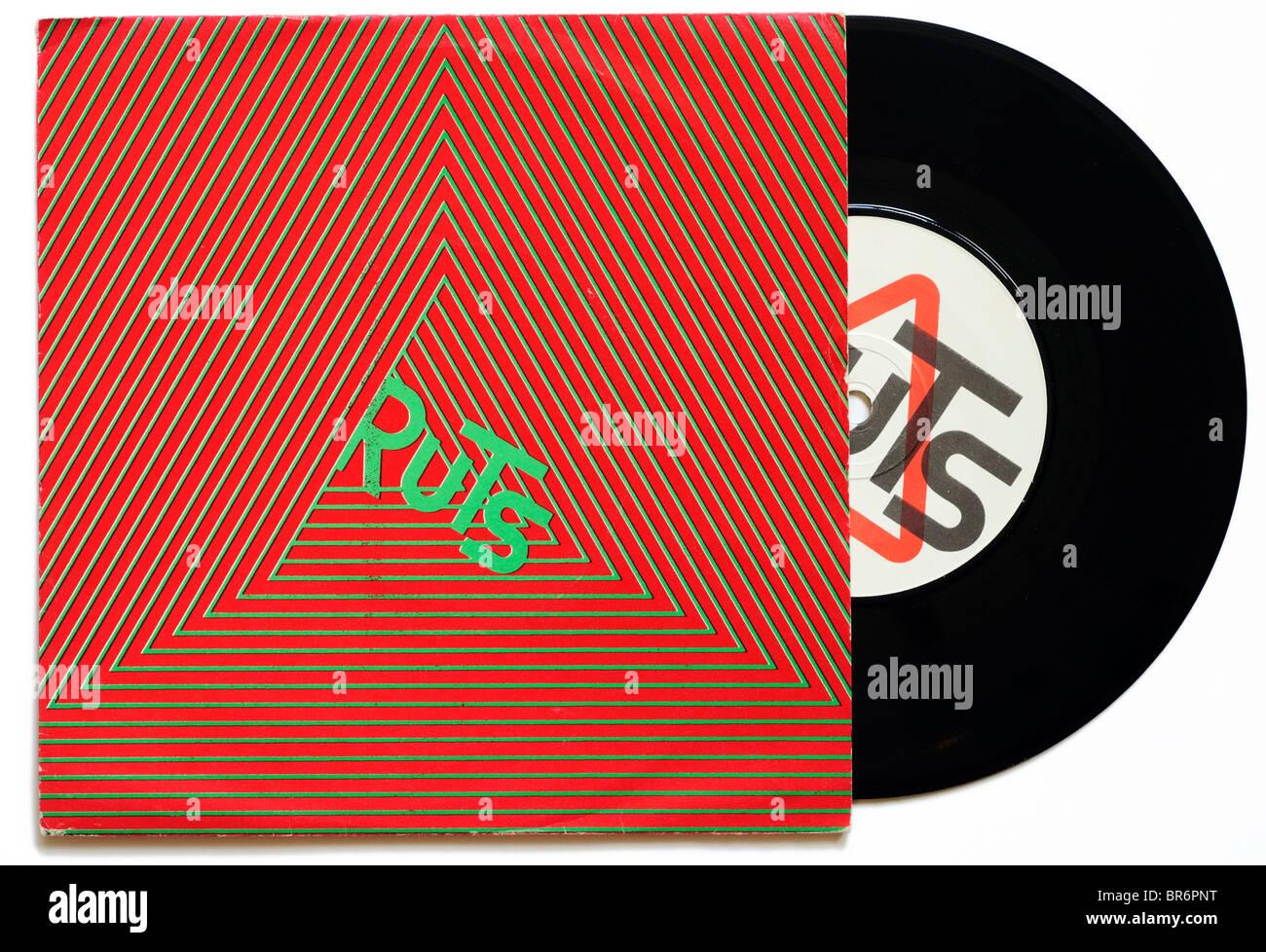 Ruts Babylons Burning single - Stock Image