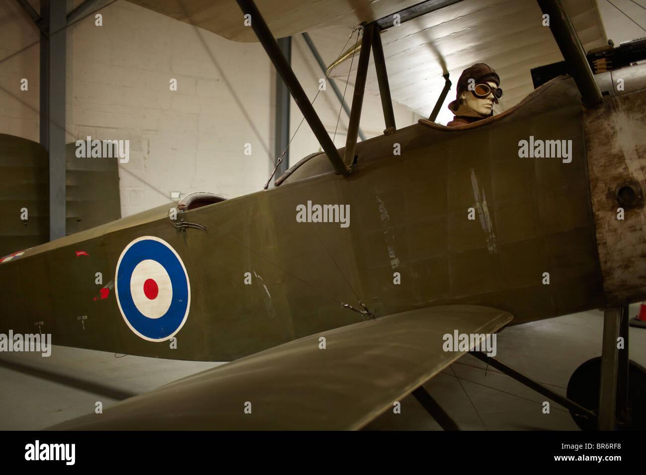 bi plane - Stock Image