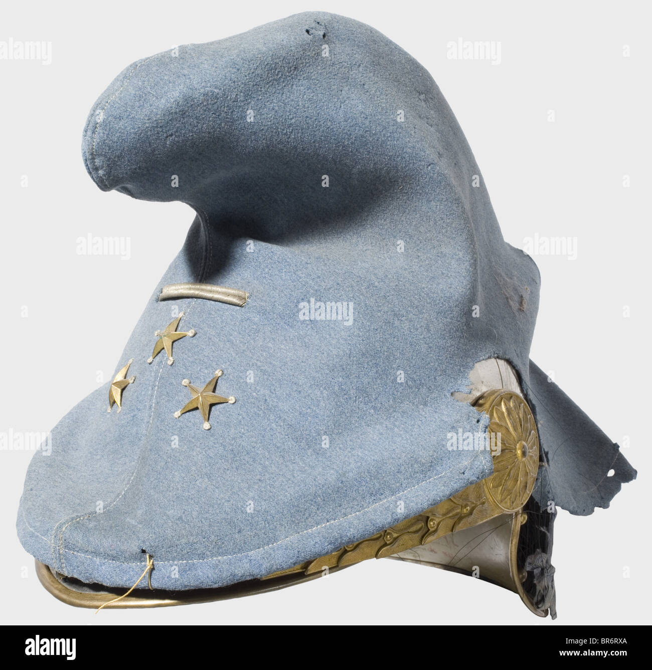 General Viktor d'Urbal (1858 - 1943) - a model 1913 helmet for cavalry officers, which he wore from his promotion - Stock Image