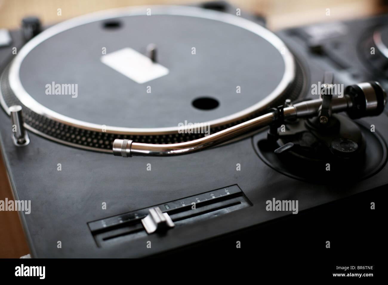 DJ Tools - Stock Image