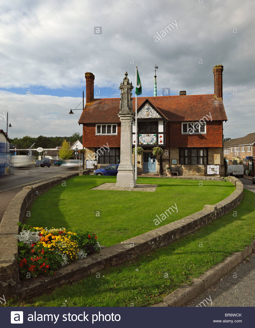 The Village Hall Freshfield , Forest Row, East Sussex. - Stock Image