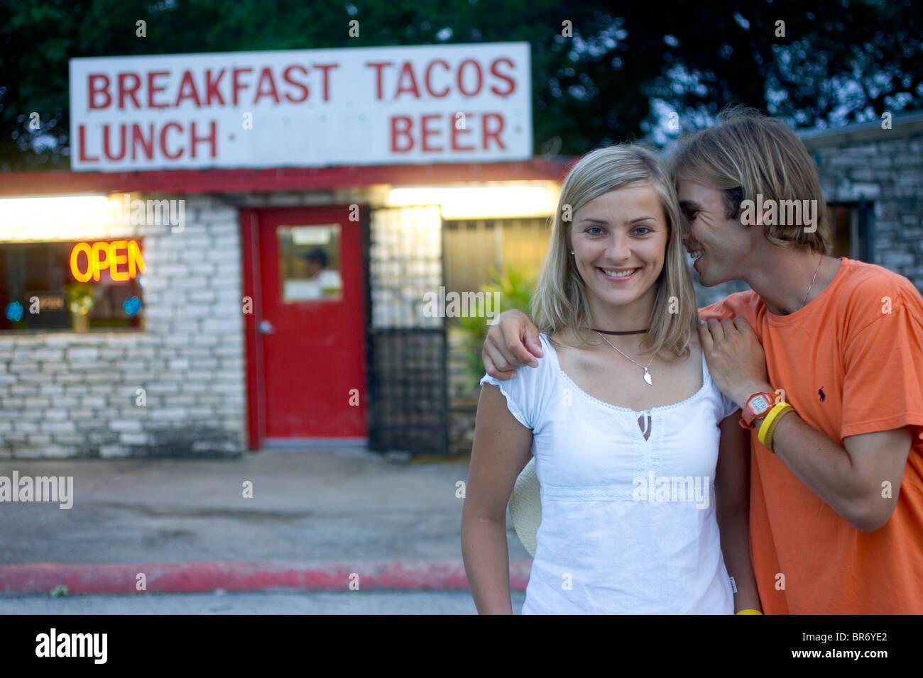 young texas couple
