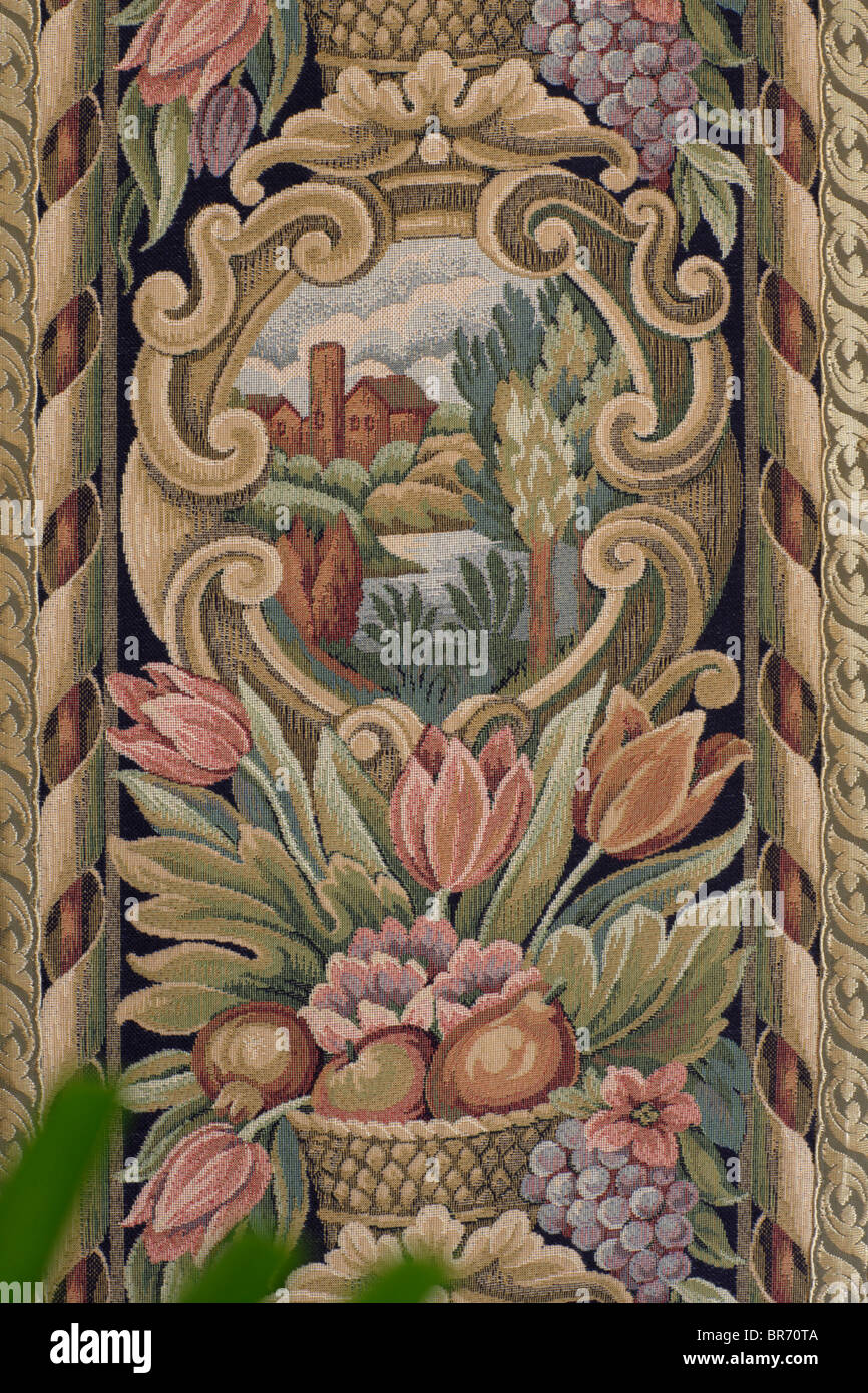 tapestry decotation - Stock Image