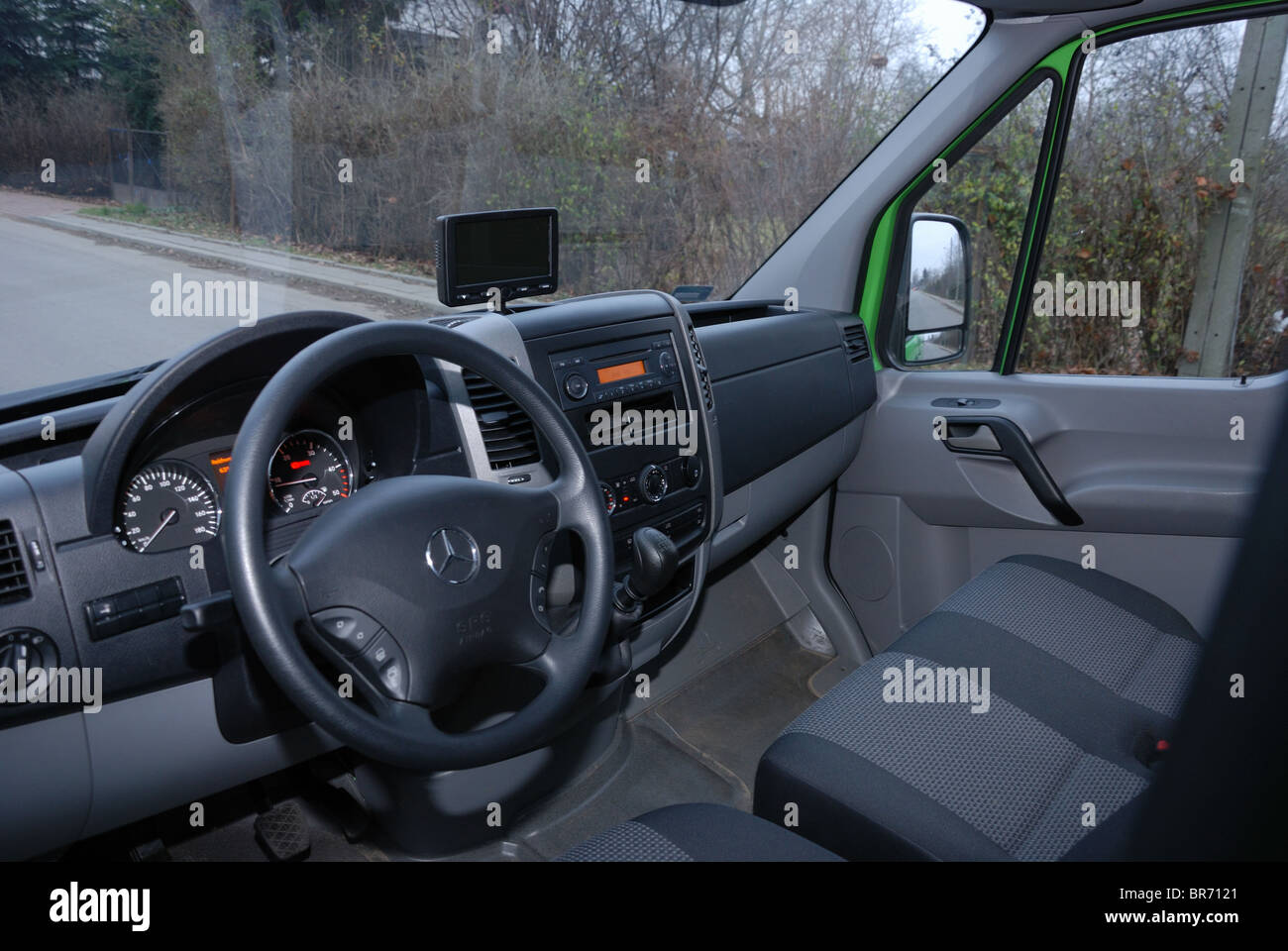 43e8634e2b Interior Cabin Mercedes Benz Sprinter Stock Photos   Interior Cabin ...