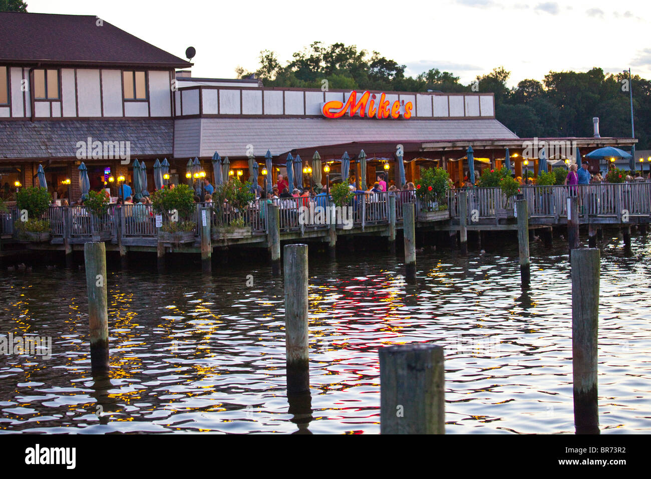 Mike S Crab House Annapolis Md Stock Photo 31504118 Alamy