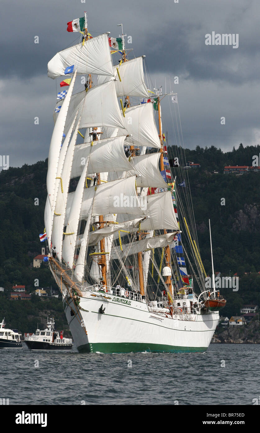 Cuauhtemoc, The Tall Ships Races 2008, Bergen - Stock Image