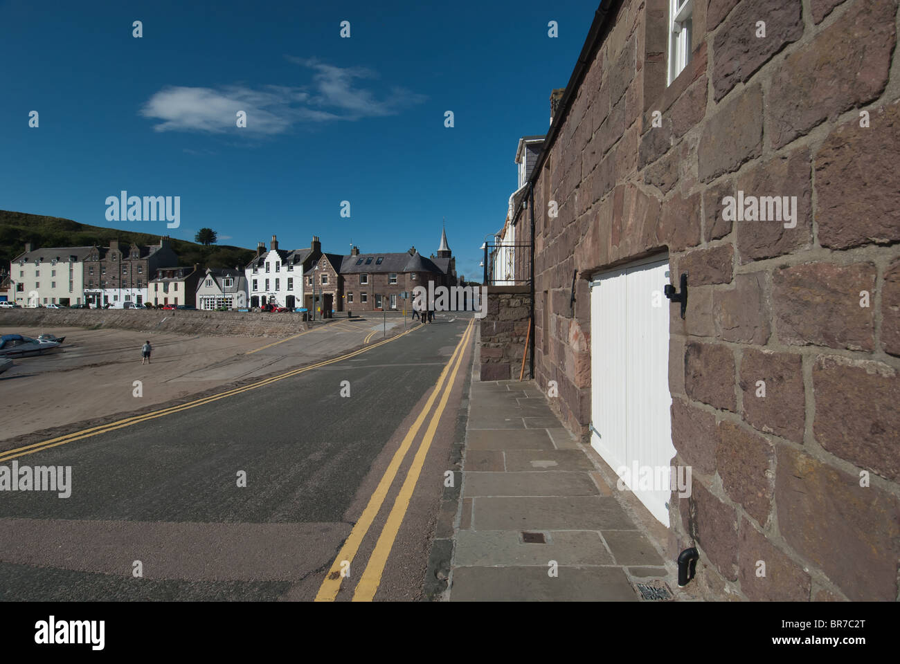 Stonehaven Harbour Aberdeenshire Scotland UK - Stock Image