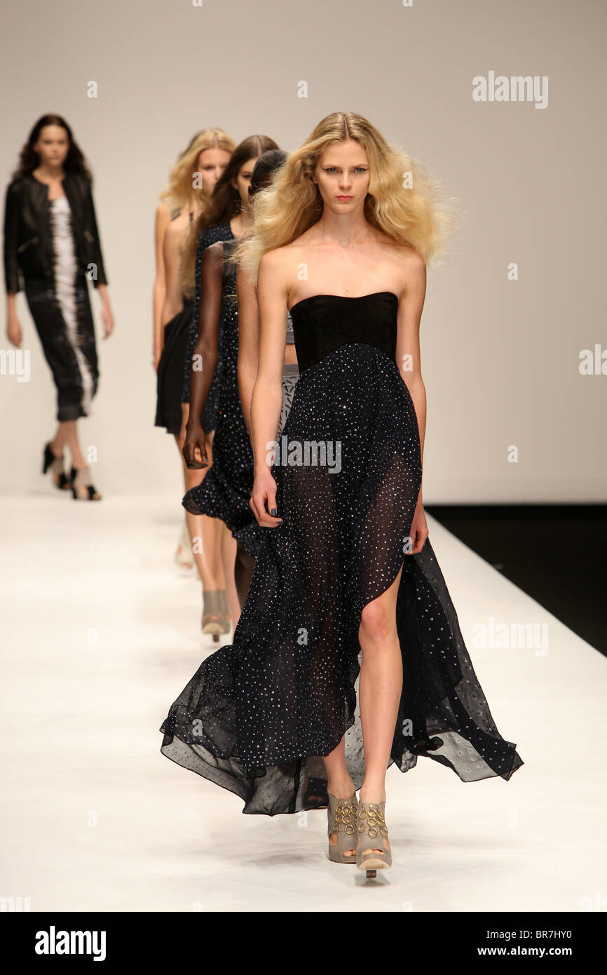 Felder Felder collection during the London Fashion Week at Somerset House in London, England on September 17th, - Stock Image