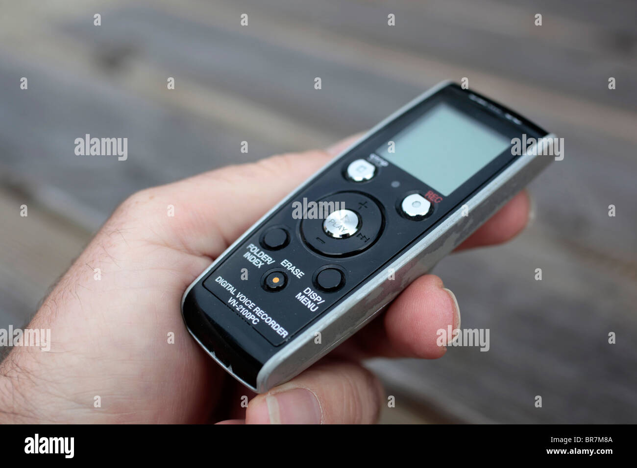 Digital Voice Recorder - Stock Image