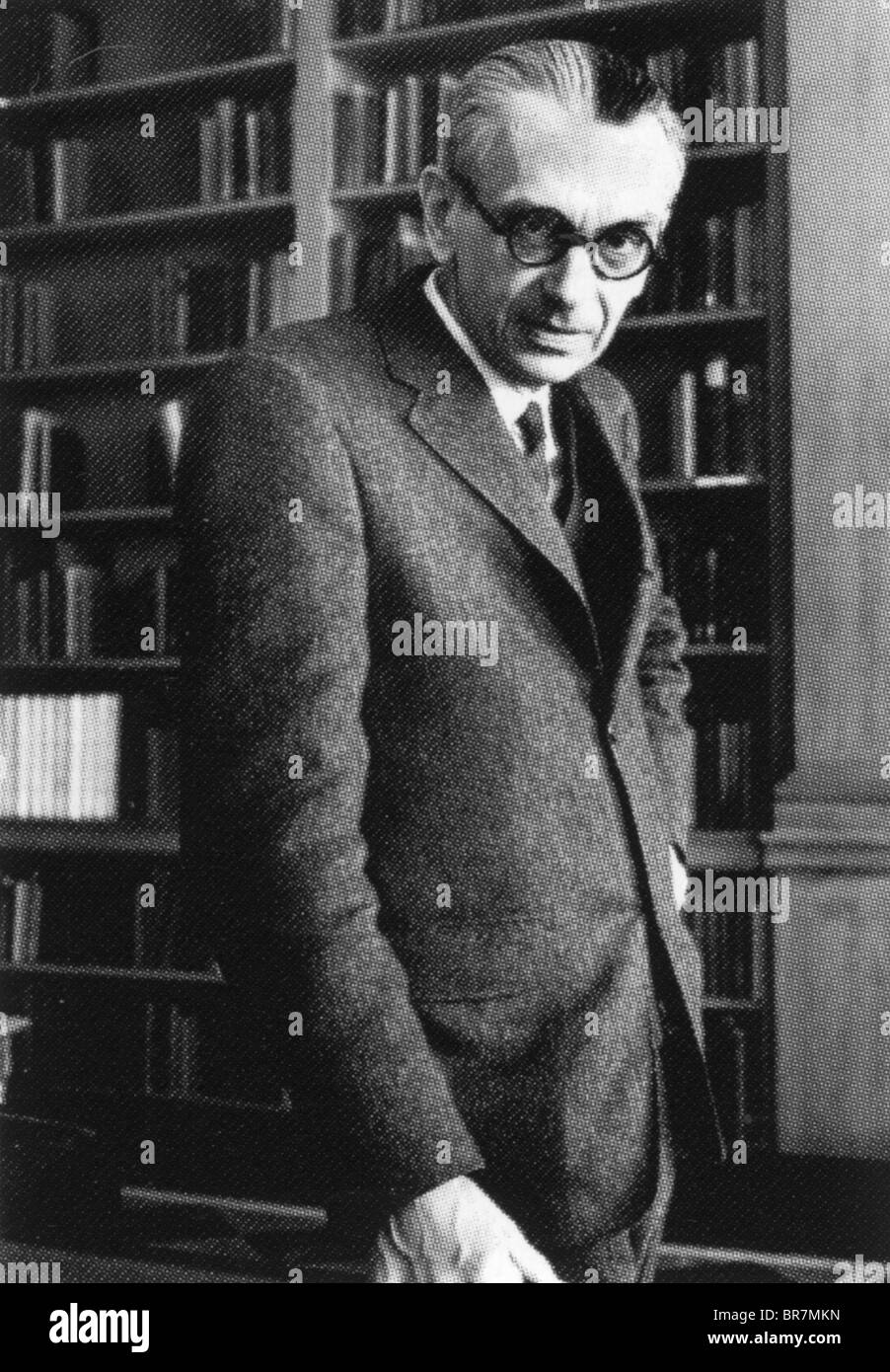 KURT GODEL (1906-1978) Austrian logician, mathematician and philosopher - Stock Image