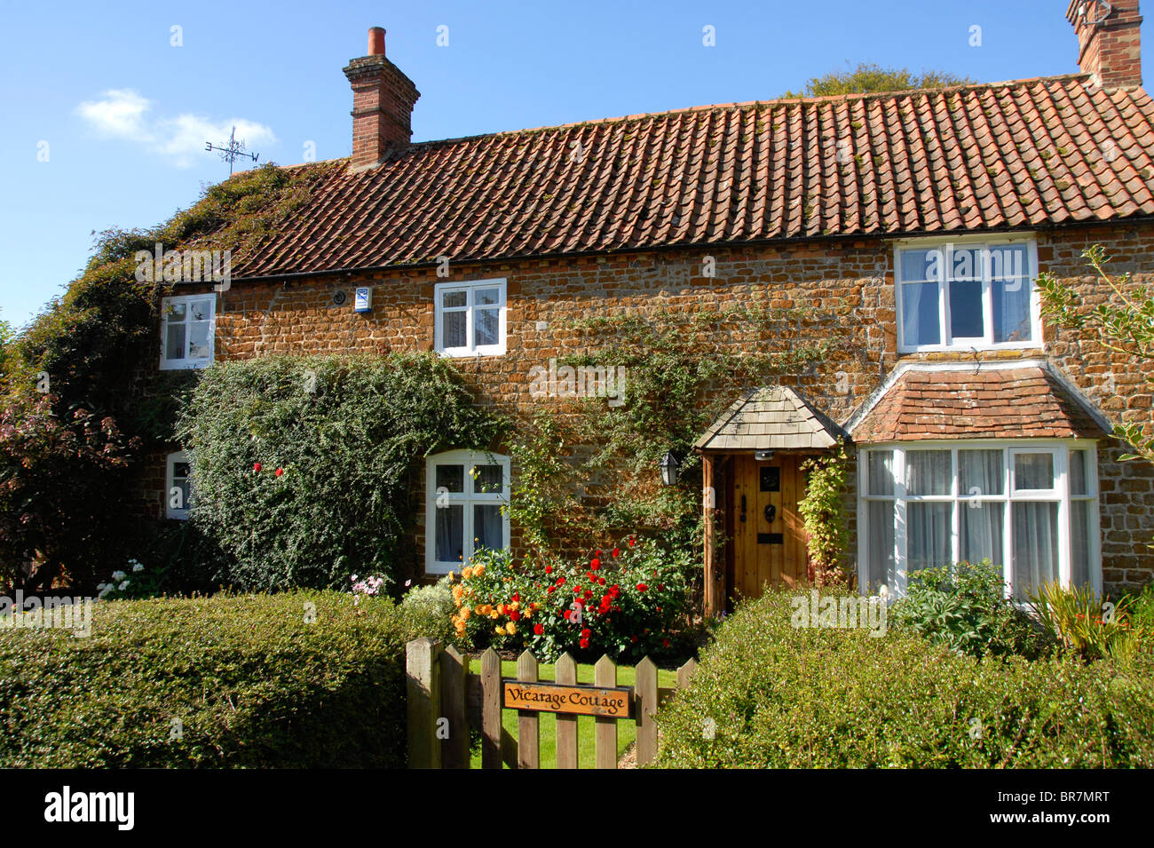 Vicarage Cottage, Old Hunstanton, Norfolk - Stock Image