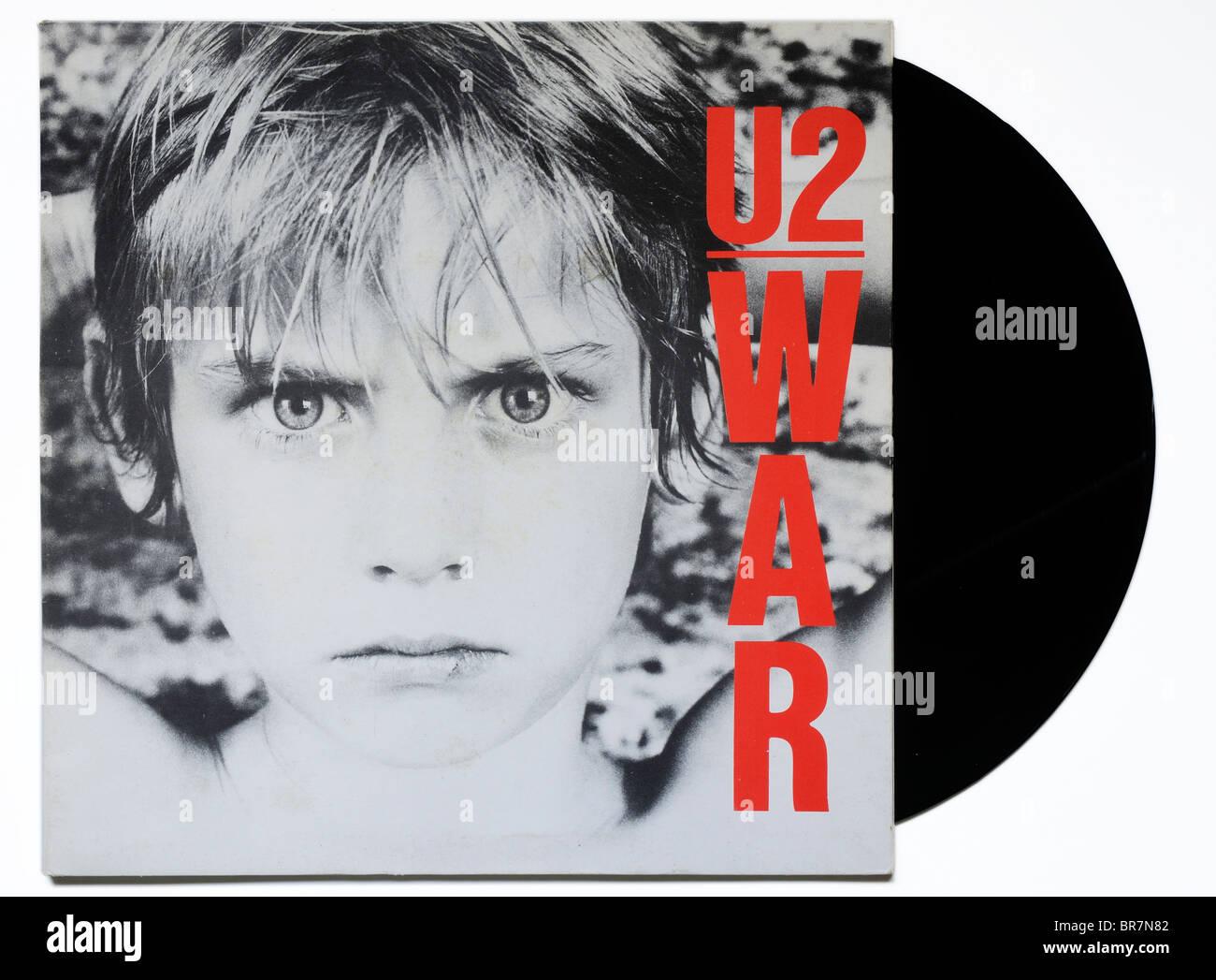 U2 War album - Stock Image