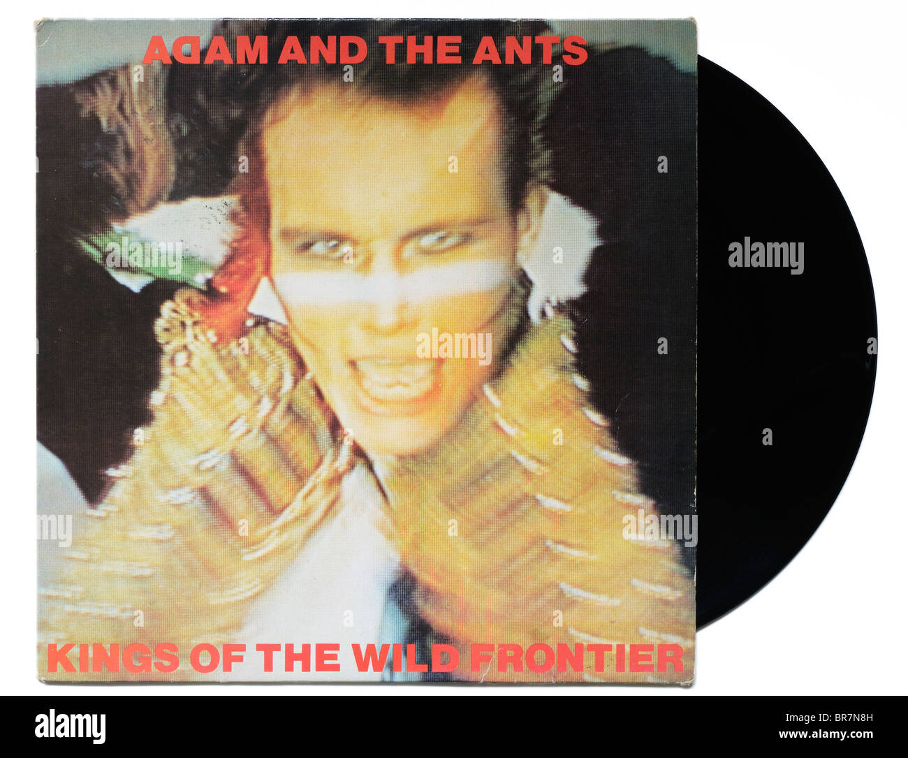 Adam and the Ants Kings of the Wild Frontier album - Stock Image