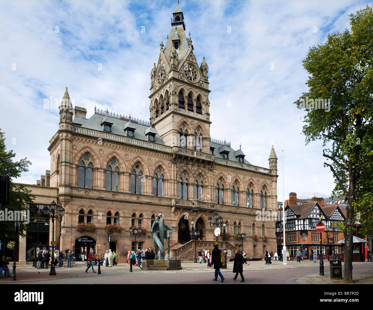 The Town Hall, Chester, Cheshire, England, UK - Stock Image