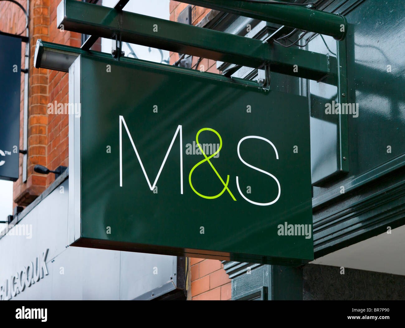 Marks and Spencer store in Chester town centre, Cheshire, England, UK - Stock Image