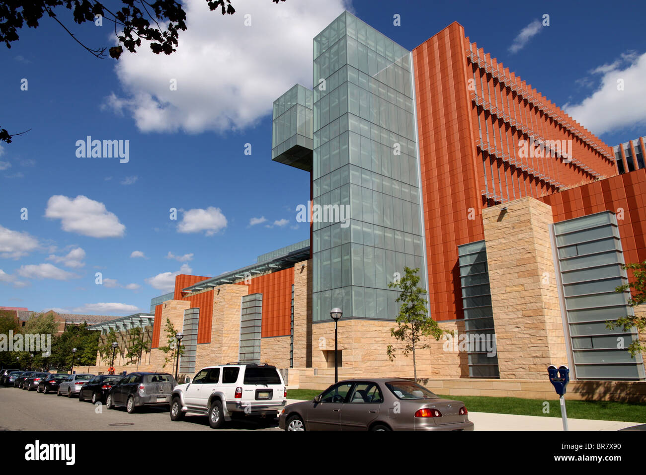 University Of Michigan Ann Arbor, Business School   Stock Image