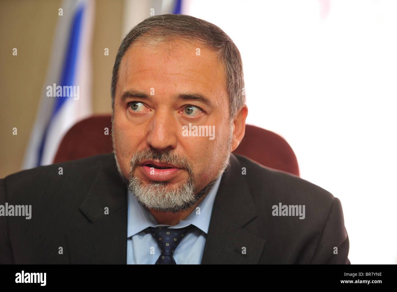 Lieberman: Zoabi can run for Hamas - Stock Image