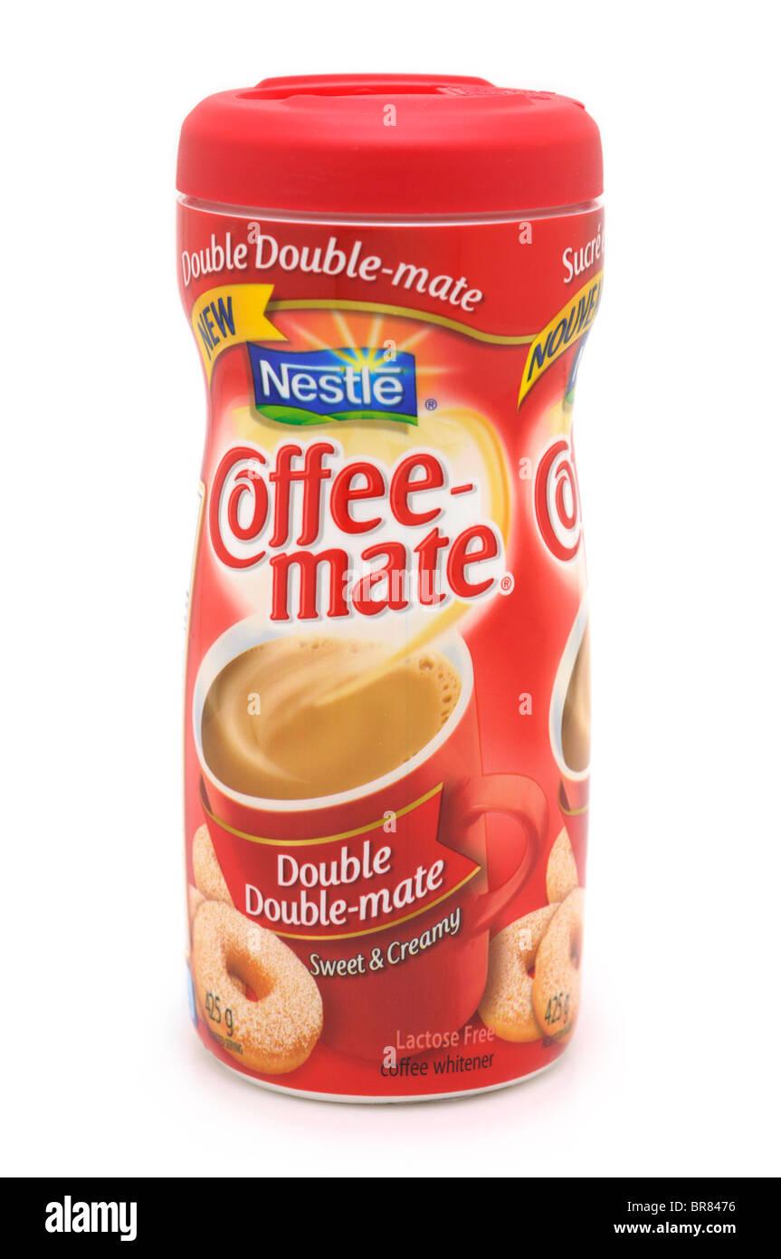Coffee Whitener - Stock Image