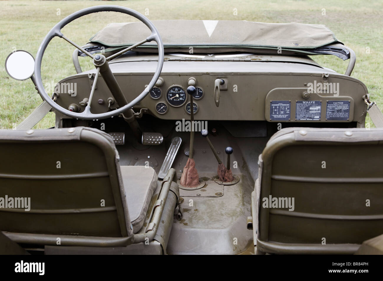 Willys MB US Army Quarter Ton Selectable 4x4 Dual Ratio Jeep Stock ...