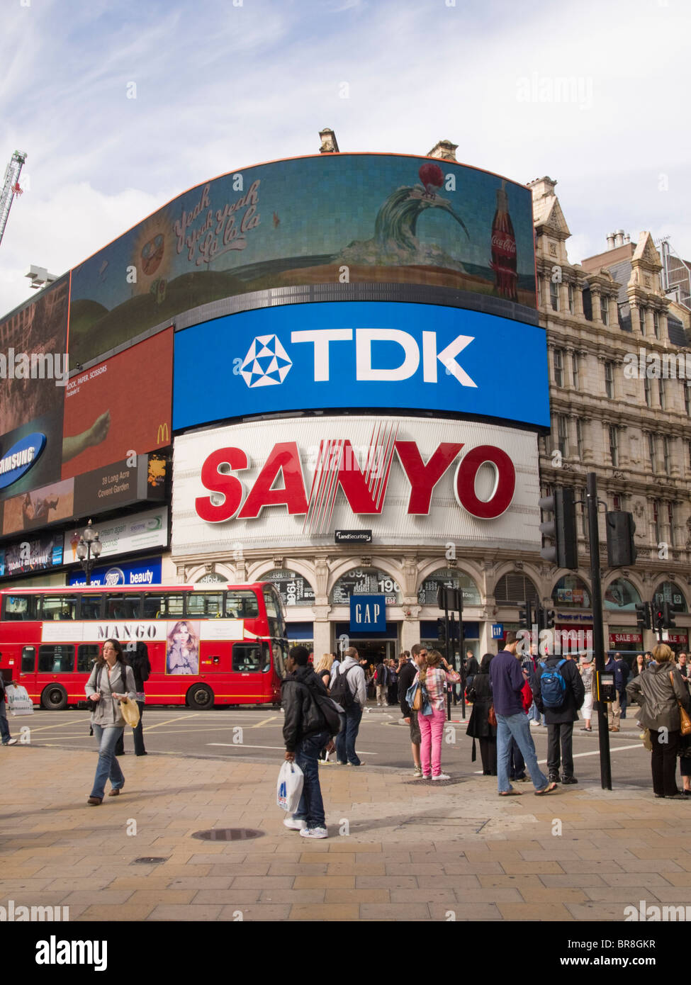 Piccadilly Circus, West End, London, England, UK - Stock Image