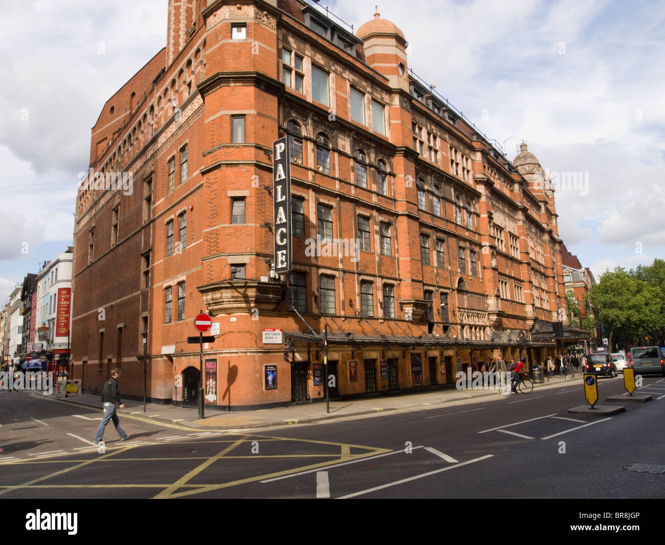 The Palace Theatre, Shaftesbury Avenue, West End, London, England, UK - Stock Image