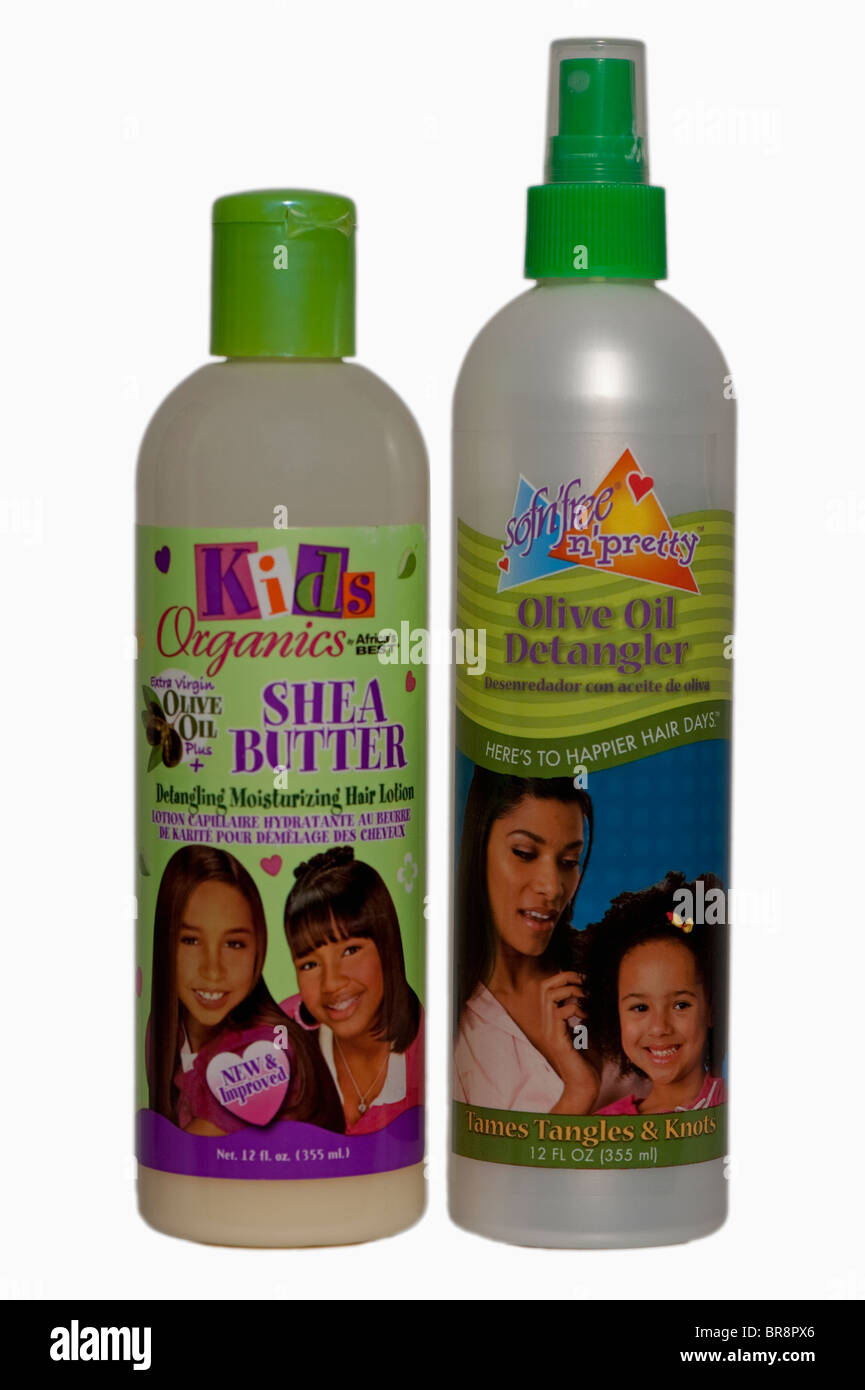 Black Afro Caribbean hair products Stock Photo: 31541054 - Alamy