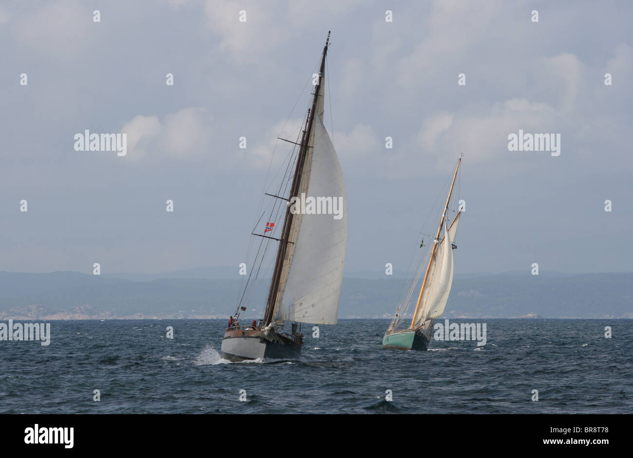 The Tall Ships Races 2010, Kristiansand - Stock Image