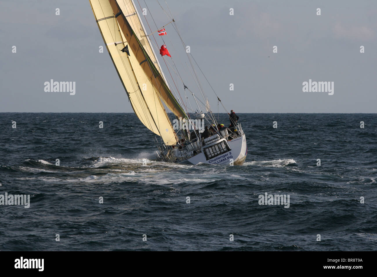 Challenger, The Tall Ships Races 2010, Kristiansand - Stock Image