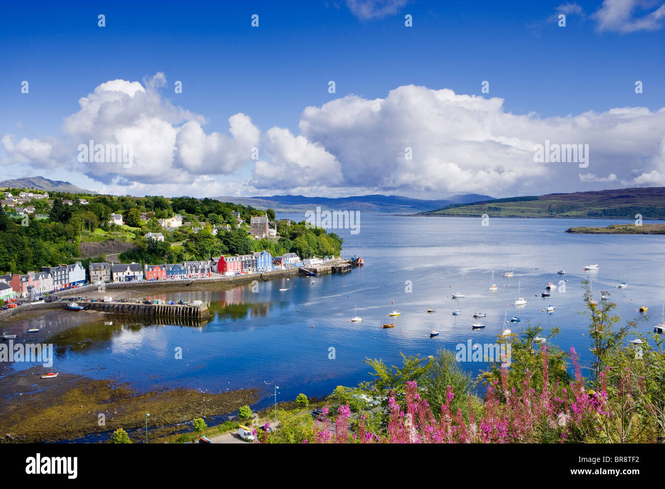 Tobermory, Isle of Mull, Argyll, Scotland, UK. - Stock Image