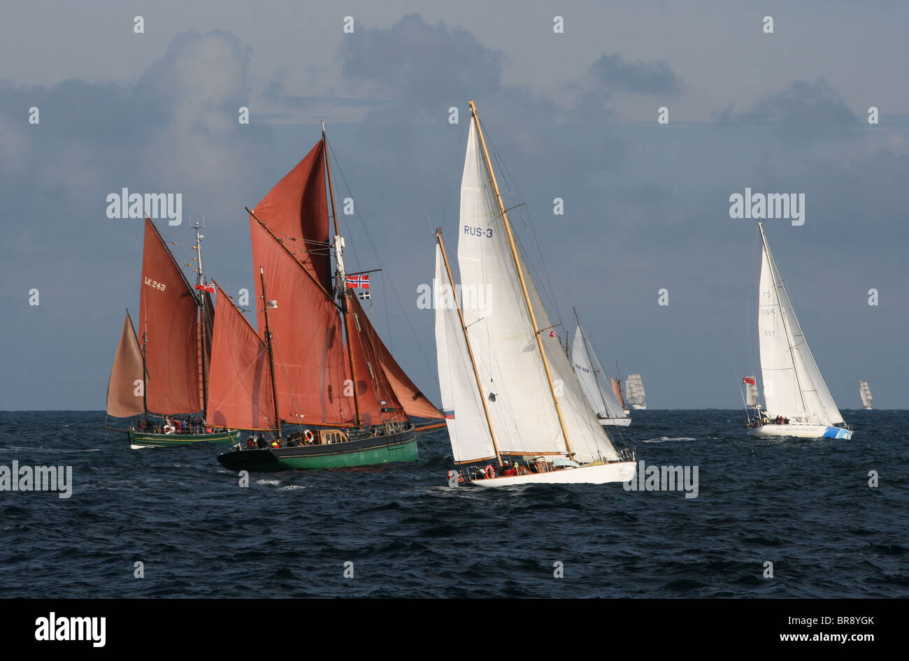 Tall Ships Races 2010, Kristiansand - Stock Image