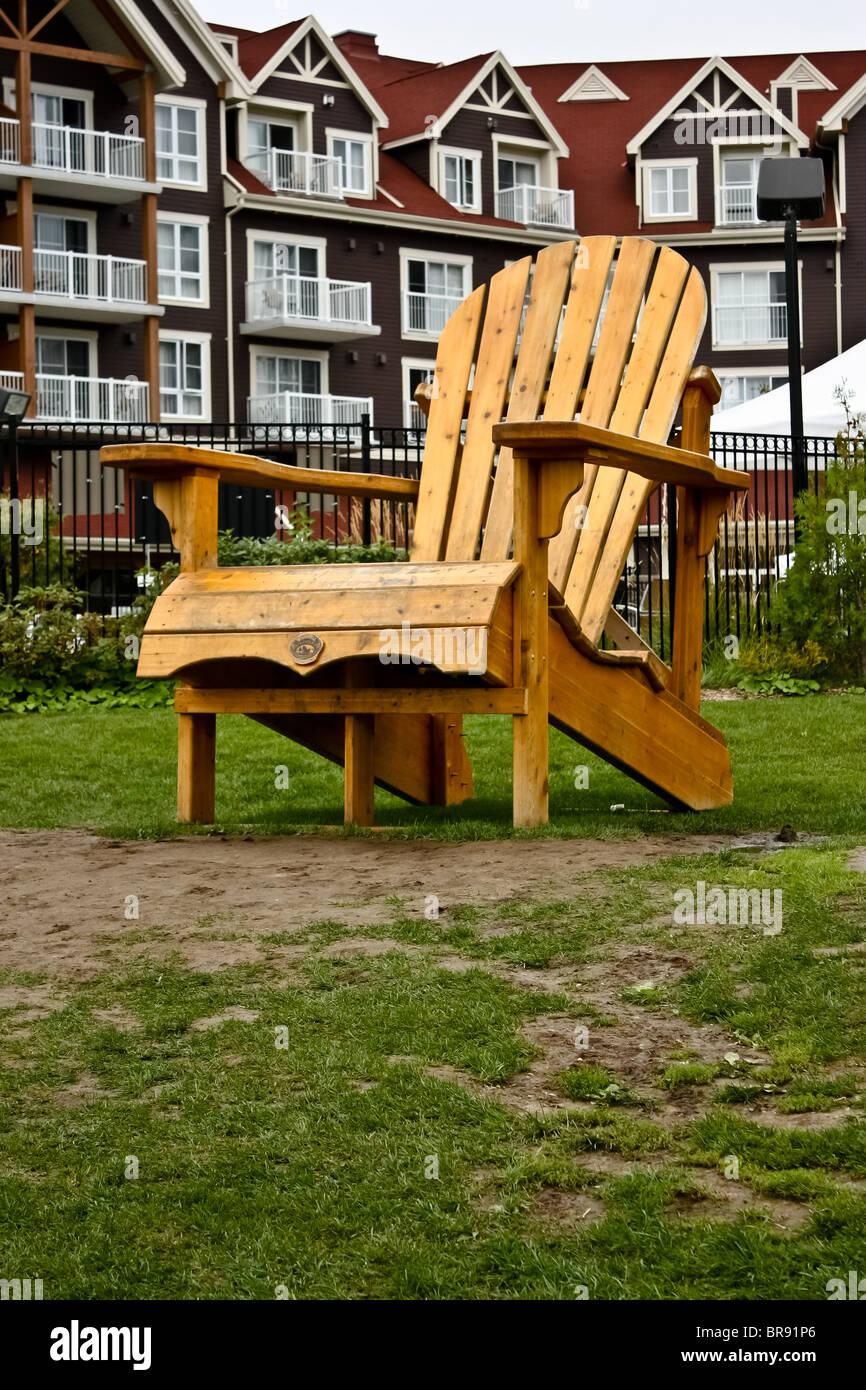 Amazing Oversized Muskoka Wooden Chair Cottage