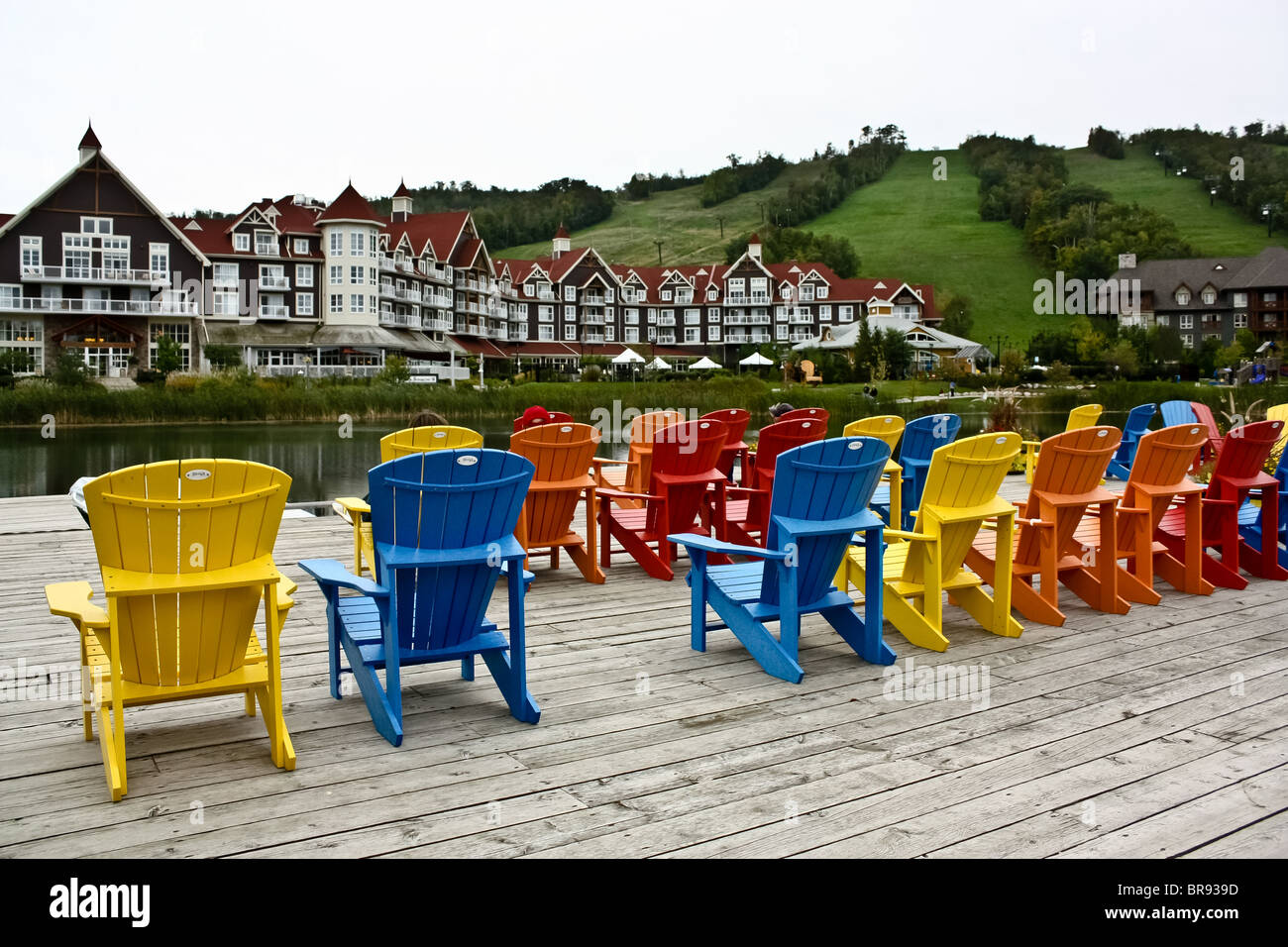 muskoka chair stock photos muskoka chair stock images alamy