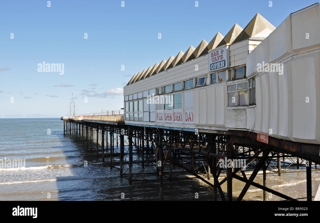 The Victoria Pier, Colwyn Bay, North Wales - Stock Image