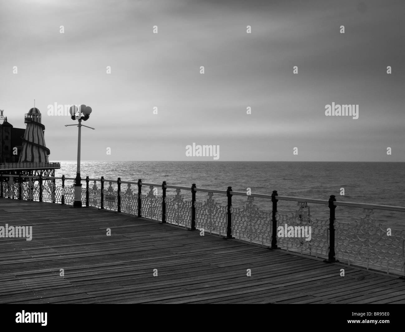 Brighton Pier, Brighton, Sussex - Stock Image