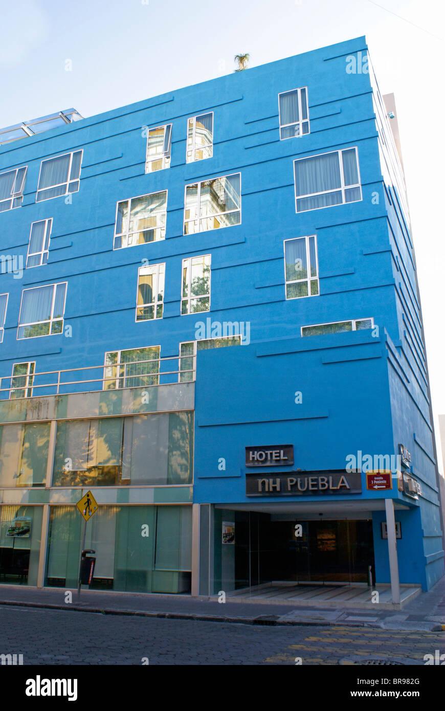 NH Puebla Hotel in the city of Puebla, Mexico. - Stock Image