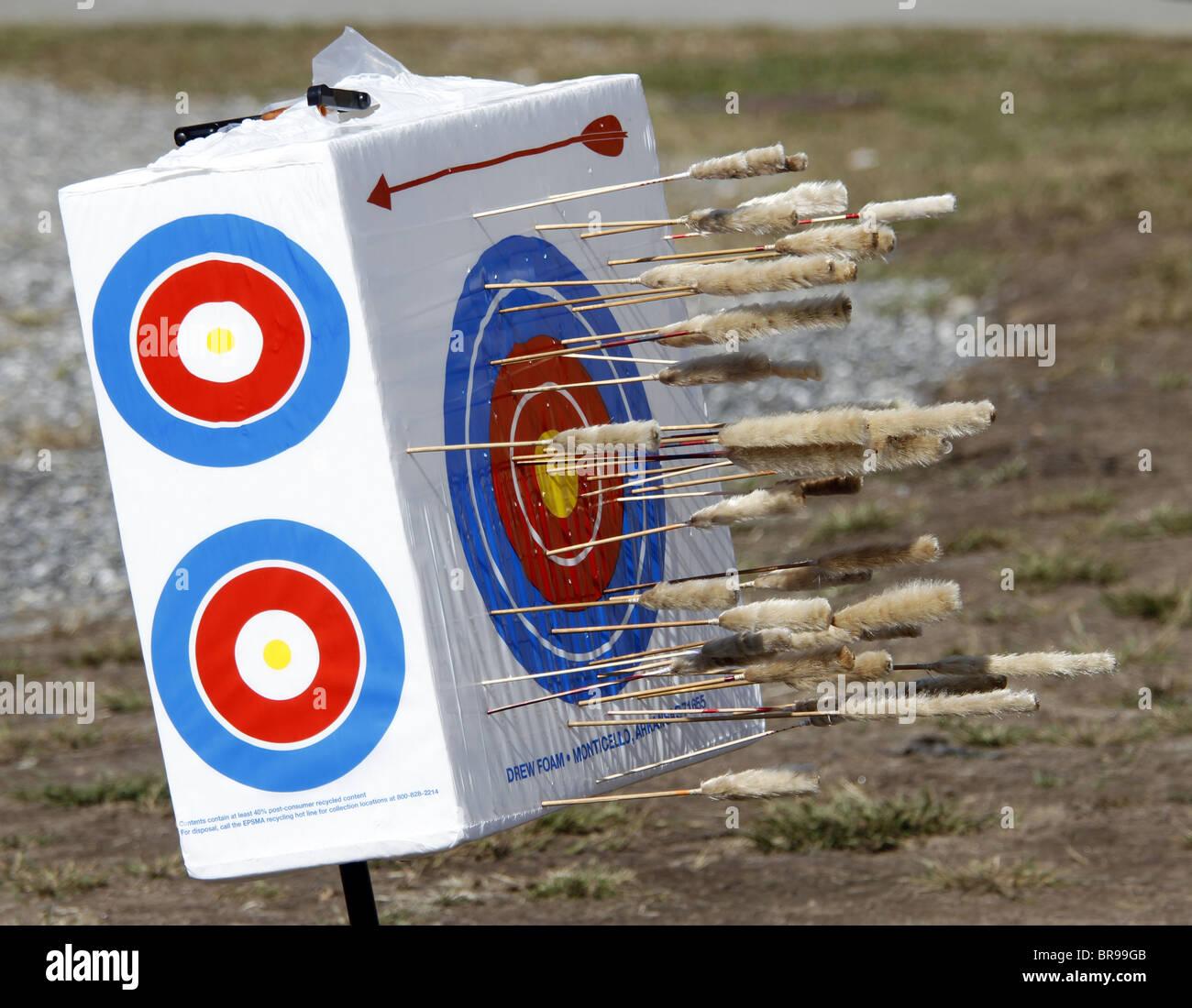 Cherokee, North Carolina - Target used in a blowgun contest