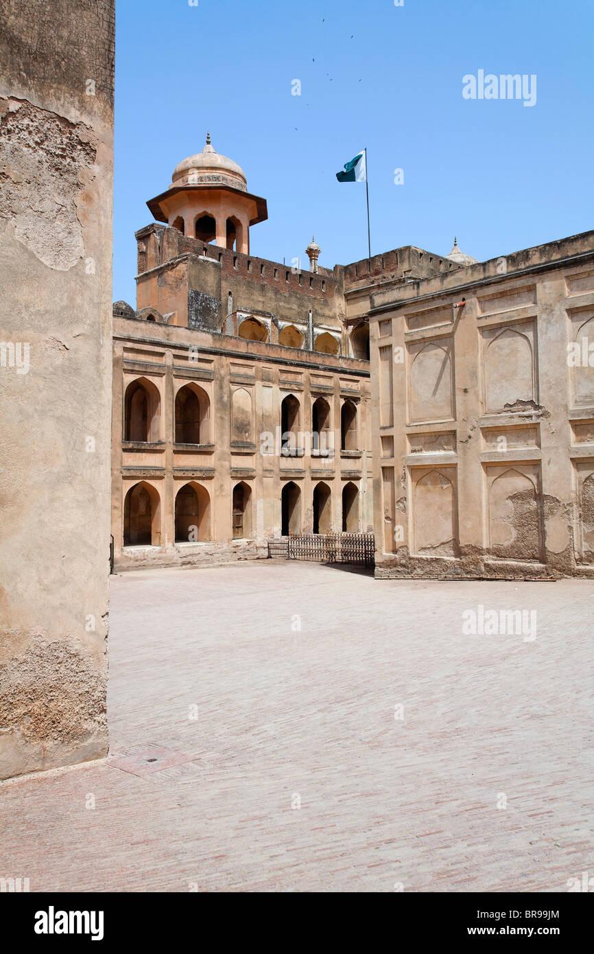 Lahore Fort, Lahore, Punjab, Pakistan - Stock Image
