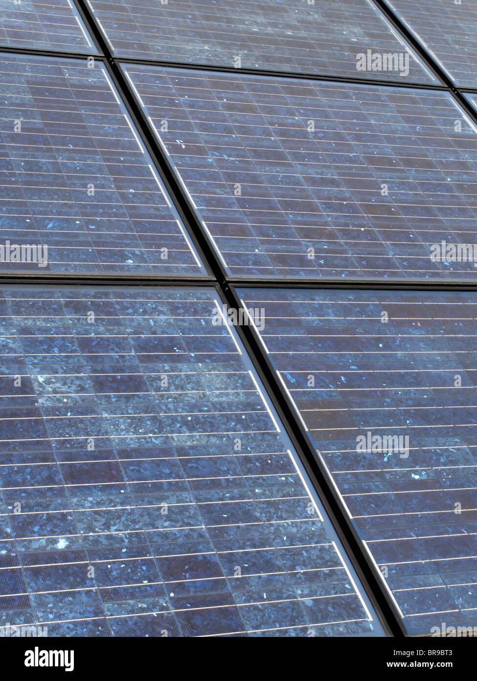 solarcells - solar power - Stock Image