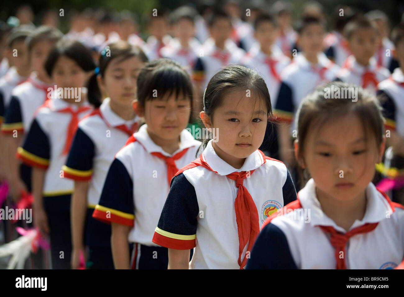 School chinese uniforms photo forecasting to wear for autumn in 2019