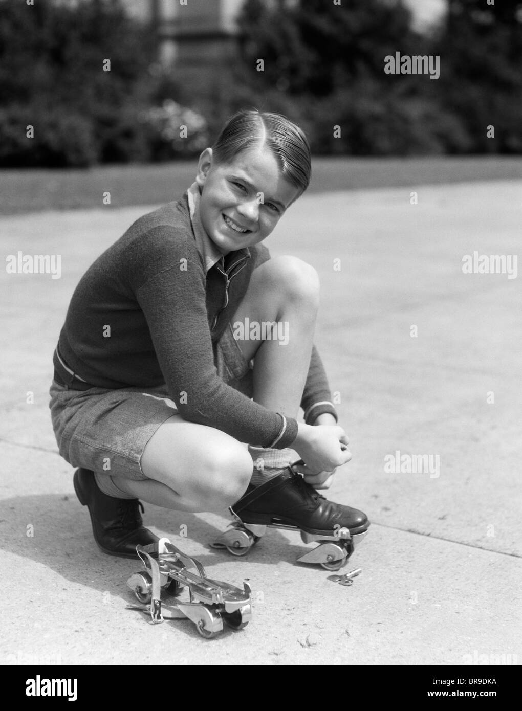 Photo Child Strike Sympathizers Roller Skates