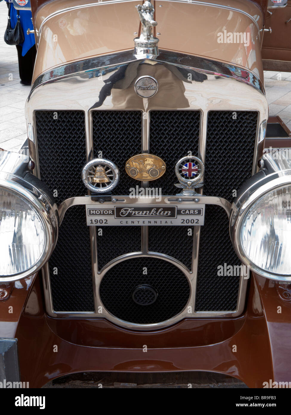 Franklin Motor Car - Stock Image