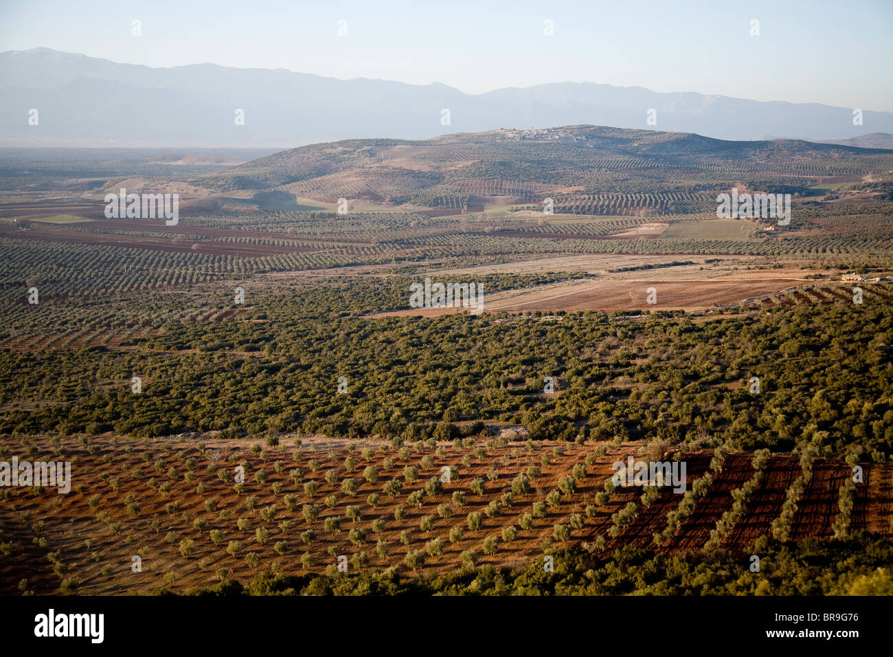 Countryside in Northern Syria. - Stock Image